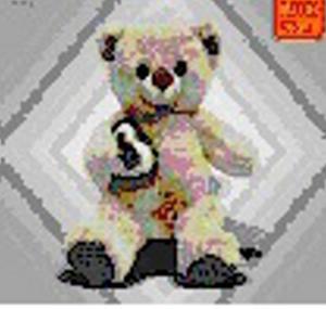 Obrázok Medvědice se srdcem 20cm