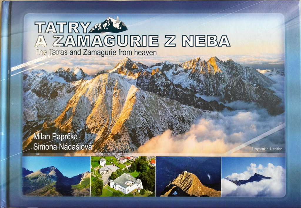 Tatry a Zamagurie z neba - Milan Paprčka, Simona Nádašiová