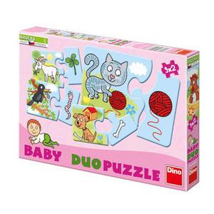 Obrázok Baby duo puzzle Zvířátka
