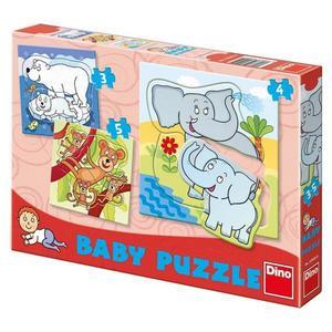Obrázok Baby puzzle Zoo