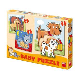 Obrázok Baby puzzle Zvířátka