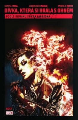 Obrázok Dívka, která si hrála s ohněm