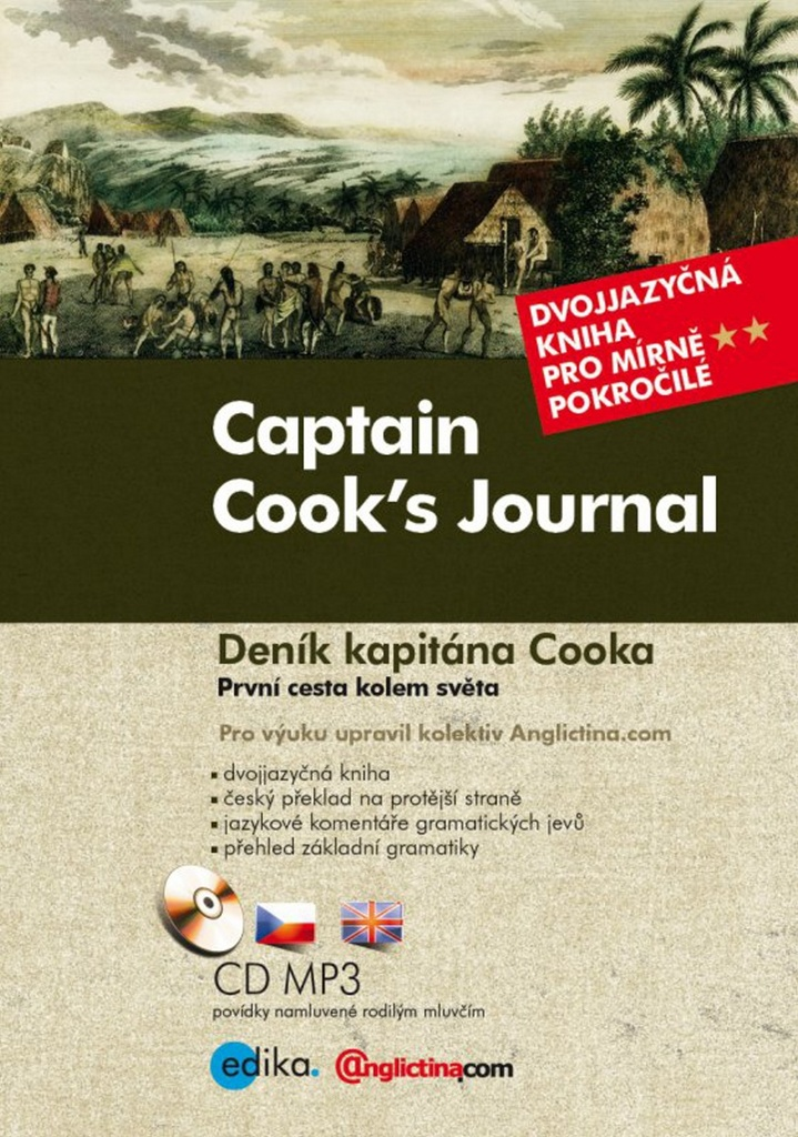 Captain Cook's Journal Deník kapitána Cooka