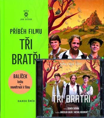 Obrázok Příběh filmu Tři bratři + CD