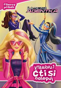 Obrázok Barbie Tajná agentka Vybarvuj a čti