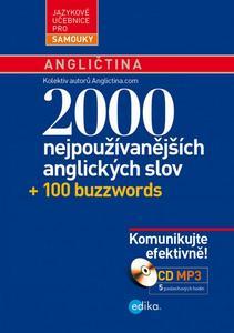 Obrázok 2000 nejpoužívanějších anglických slov + 100 buzzwords
