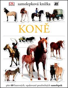 Obrázok Samolepková knížka Koně