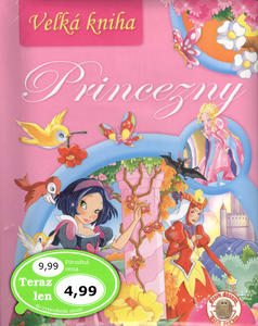 Obrázok Veľká kniha Princezny