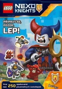 Obrázok LEGO NEXO KNIGHTS Připrav se, pozor, lep!