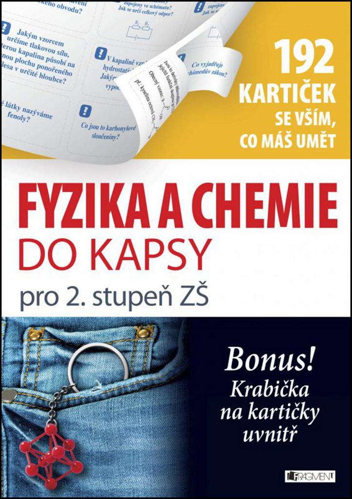 Fyzika a chemie do kapsy (192 kartiček se vším, co máš umět) - Marie Vlková, Jan Řasa
