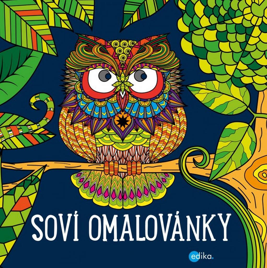 Soví omalovánky - Yulia Mamonova