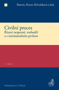 Obrázok Civilní proces Zvláštní část