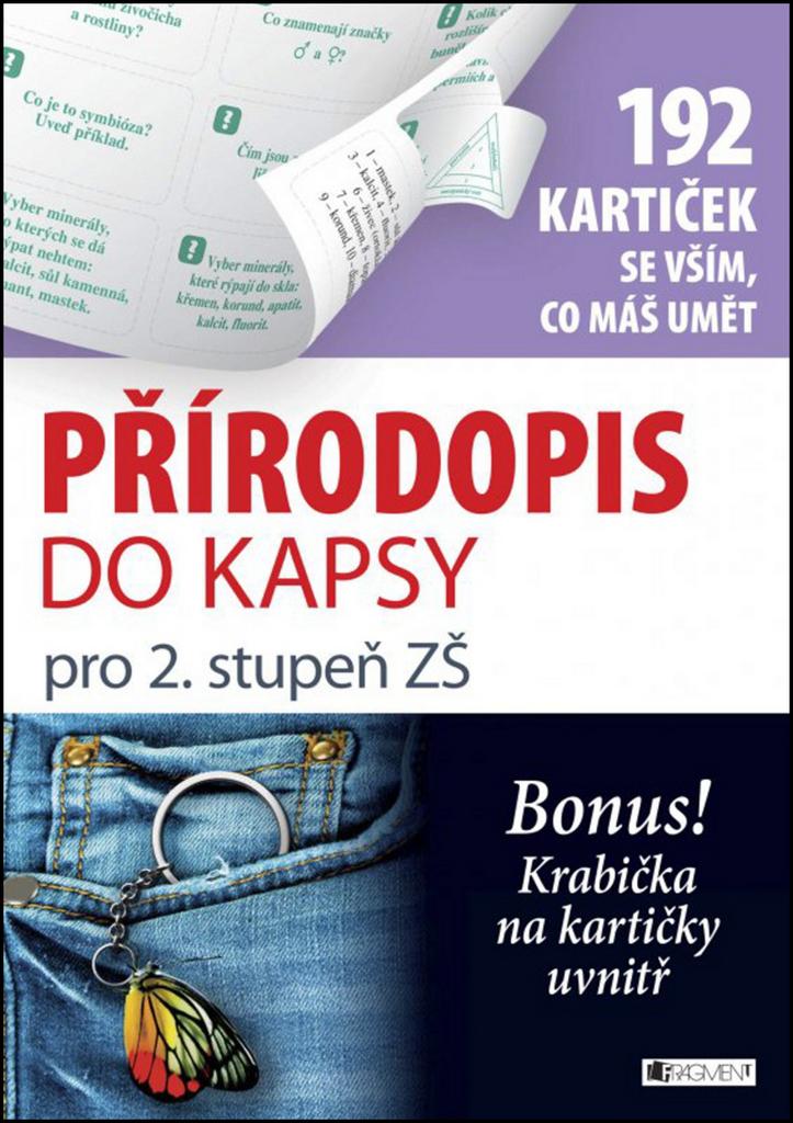 Přírodopis do kapsy (192 kartiček se vším, co máš umět) - Anna Kousalová