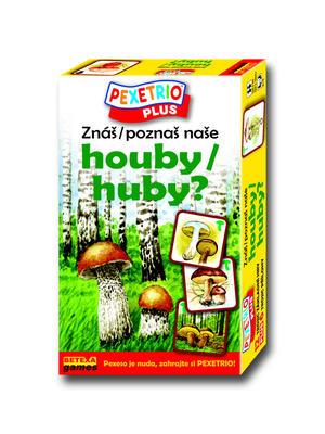 Obrázok Pexetrio Plus Znáš naše houby?