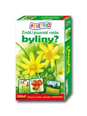 Obrázok Pexetrio Znáš naše byliny?