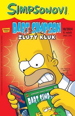 Obrázok Bart Simpson Žlutý kluk