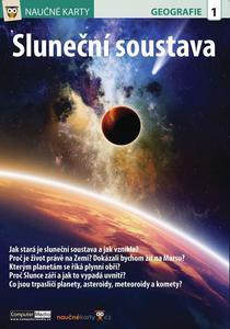 Obrázok Naučné karty Sluneční soustava