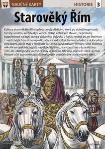 Obrázok Naučné karty Starověký Řím