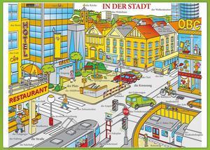 Obrázok Karta In der Stadt