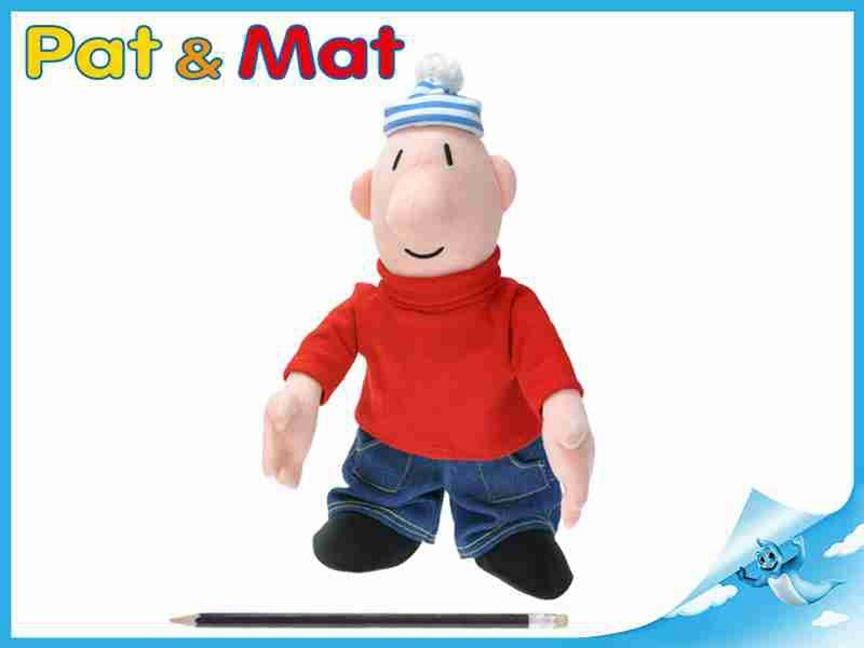 Postavička Mat plyšová 18 cm.