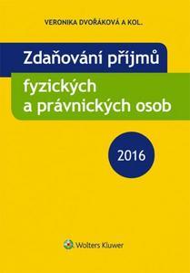Obrázok Zdaňování příjmů fyzických a právnických osob 2016