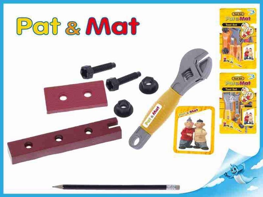 Sada nářadí Pat a Mat 3 druhy na kartě