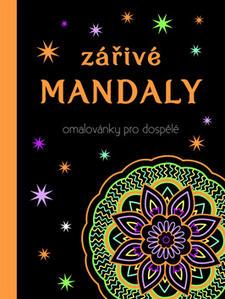 Obrázok Zářivé mandaly Omalovánky pro dospělé