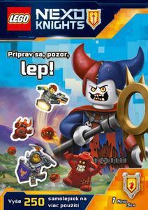 Obrázok LEGO NEXO KNIGHTS Priprav sa, pozor, lep!