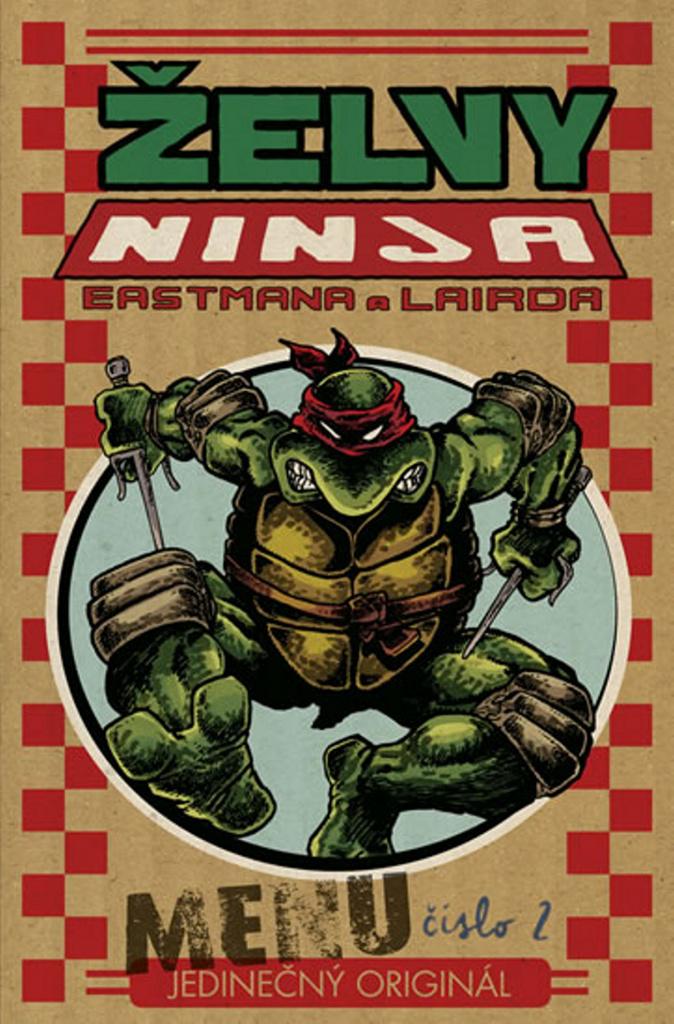 Comics Centrum Želvy Ninja Menu číslo 2 - Peter Laird, Kevin Eastman