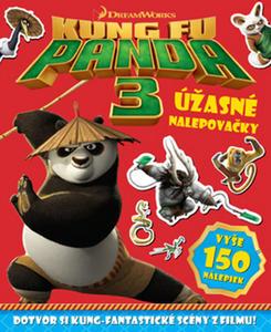 Obrázok Kung Fu Panda 3 Úžasné nalepovačky