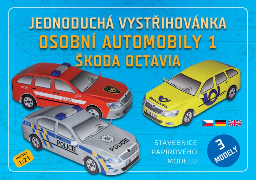 Osobní automobily 1 Škoda Octavia (3 modely)