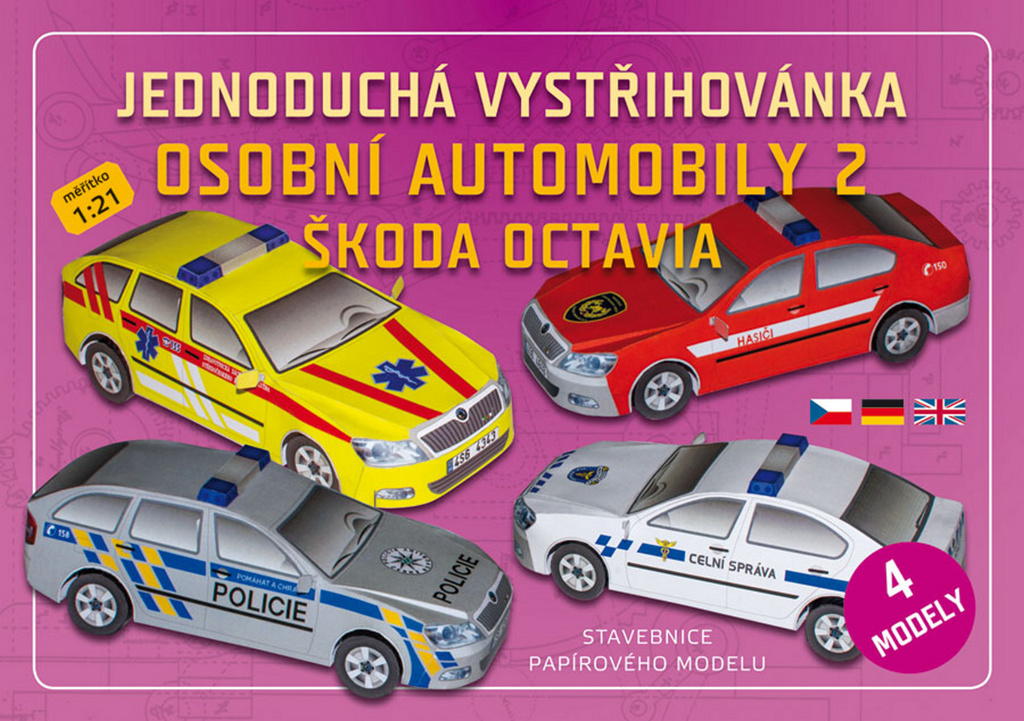 Osobní automobily 2 Škoda Octavia (4 modely)