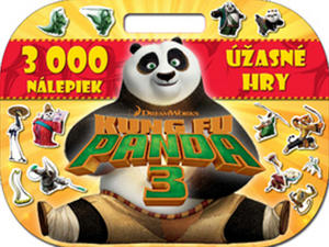 Obrázok Kung Fu Panda 3 3000 Nálepiek Úžasné hry