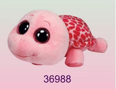 Obrázok Plyš očka želva růžová velká