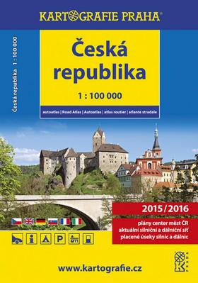Obrázok Autoatlas ČR 1:100 000