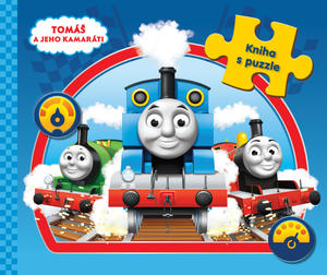 Obrázok Tomáš a jeho kamaráti Kniha s puzzle