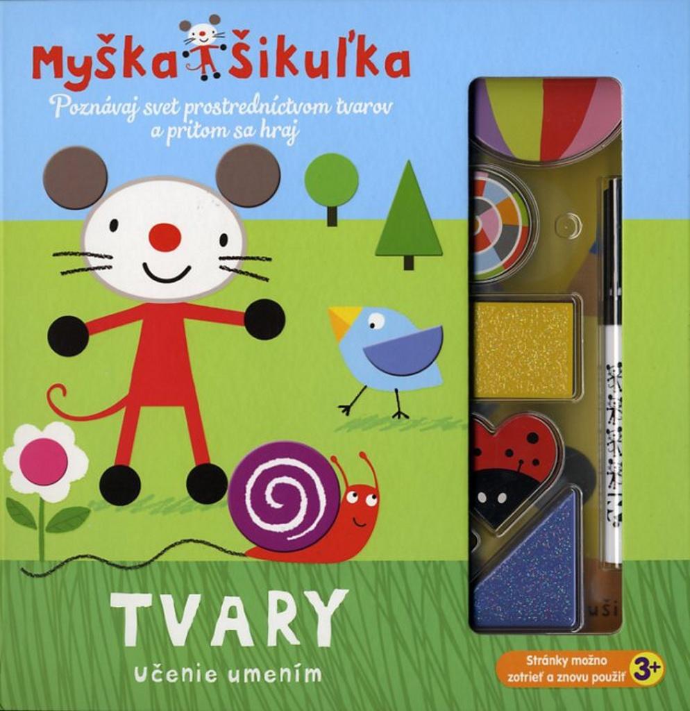 Myška Šikuľka Tvary - Mandy Stanleyová