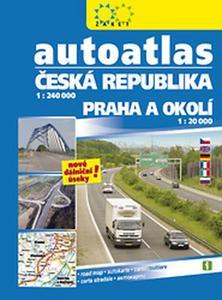Obrázok Autoatlas ČR + Praha 1:240 000