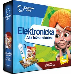 Elektronická Albi tužka s knihou Hravá angličtina