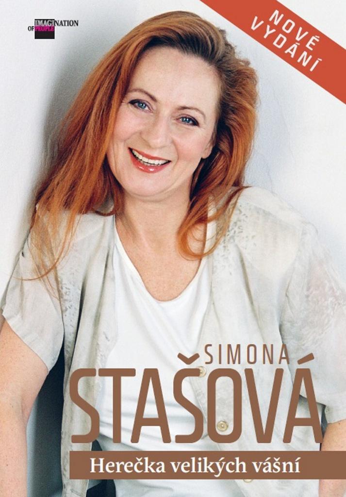 Simona Stašová Herečka velikých vášní - Petr Čermák