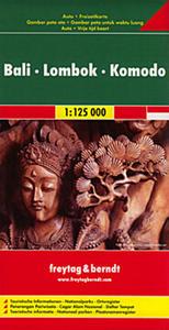 Obrázok Automapa Bali-Lombok-Komodo 1:125 000