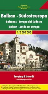 Obrázok Automapa Balkán-JV Evropa 1:2 000 000