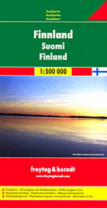 Obrázok Automapa Finsko 1:500 000