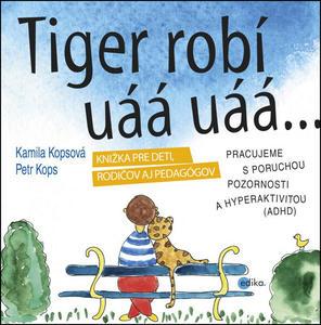 Obrázok Tiger robí uáá uáá