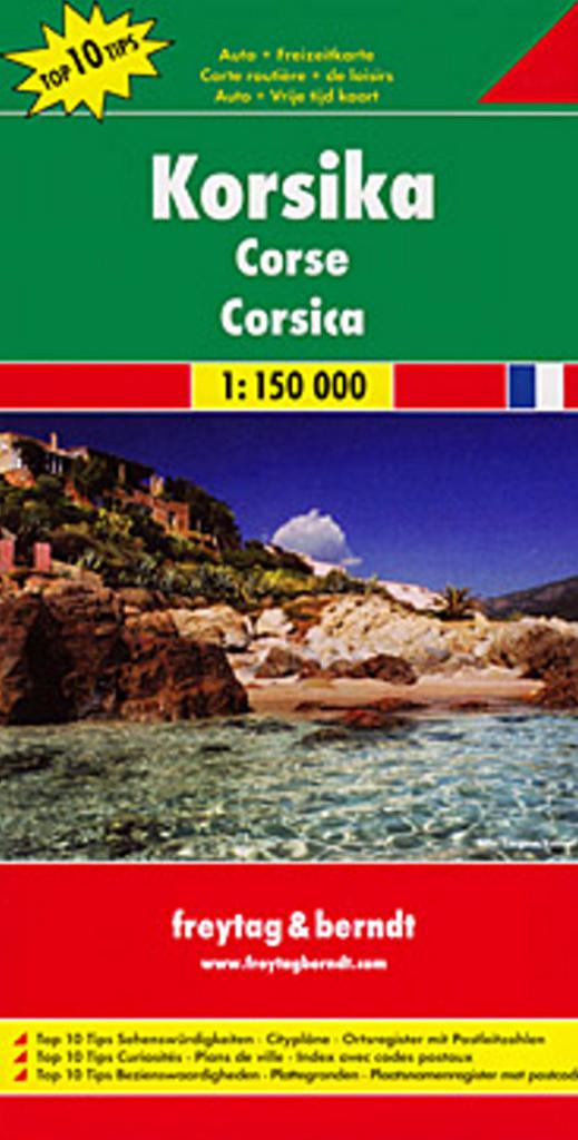Automapa Korsika 1:150 000