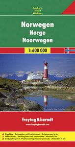 Obrázok Automapa Norsko 1:600 000