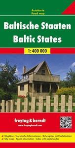 Obrázok Automapa Litva, Lotyšsko, Estonsko 1:400 000