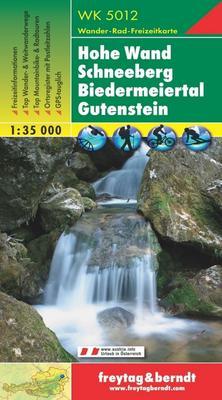 Obrázok 5012 Hohe Wand Schneeberg 1:35 000