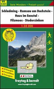 Obrázok 5201 Schladming, Ramsau am Dachstein 1:35 000