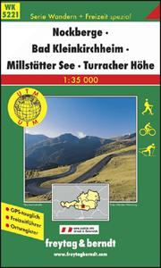 Obrázok 5221 Nockberge Bad Kleinkirchheim 1:35 000